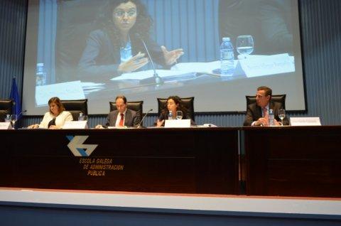 Novas medidas para a transparencia e eficiencia na contratación por parte do sector público galego  - I Seminario Internacional sobre transparencia administrativa e protección dos intereses financeiros da U.E. na Eurorrexión Galicia-Norte de Portugal